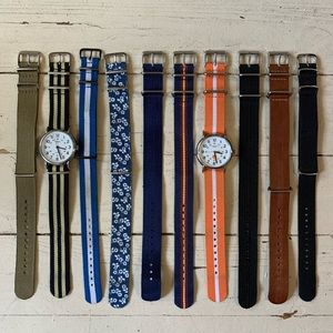 Timex watch and bands